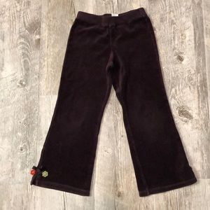 Gymboree Velour Pants Size 6